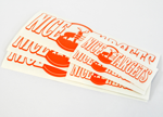 "NiceTargets Transfer Sticker 8.5"" x 2.5"""