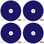 40 40cm Single Spot Blue Target Pack